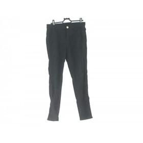 【中古】 ドゥーズィエム DEUXIEME CLASSE パンツ サイズ34 S レディース 黒