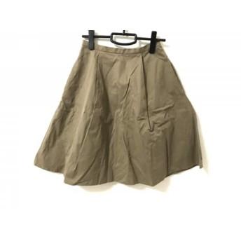 【中古】 マイストラーダ Mystrada スカート サイズ38 M レディース ブラウン