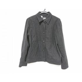 【中古】 ダナキャラン DKNY ジャケット レディース 美品 ダークグレー