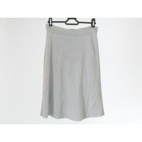 【中古】 アンテプリマ ANTEPRIMA スカート サイズM レディース グレー ニット