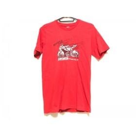 【中古】 ドゥカティ DUCATI 半袖Tシャツ メンズ レッド