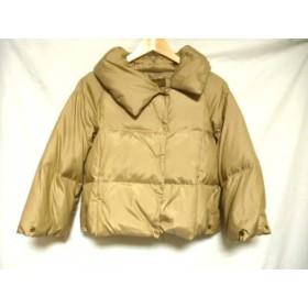 【中古】 ボールジー BALLSEY ダウンジャケット サイズ38 M レディース ベージュ 冬物