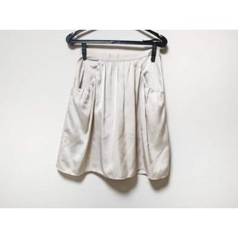 【中古】 イエナ IENA スカート サイズ38 M レディース 美品 ベージュ