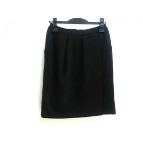 【中古】 ロペピクニック RopePicnic スカート サイズ36 S レディース ブラック