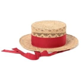 MASACA HAT × Ray BEAMS / 別注 カンカン帽 レディース その他帽子 ROSE WOOD ONE SIZE