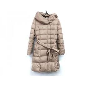 【中古】 アプワイザーリッシェ ダウンコート サイズ2 M レディース 27424970 ピンク ボリューム衿