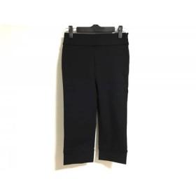 【中古】 セブンアイディーコンセプト 7-IDconcept パンツ サイズ36 S レディース 黒