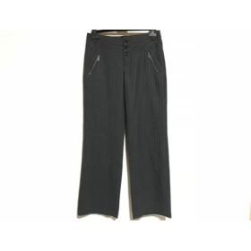 【中古】 トルネードマート TORNADO MART パンツ サイズ40 M レディース ダークグレー グレー ストライプ