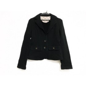 【中古】 バーバリーブルーレーベル Burberry Blue Label ジャケット サイズ38 M レディース 黒