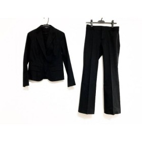 【中古】 リフレクト ReFLEcT レディースパンツスーツ サイズ9 M レディース 美品 黒