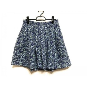 【中古】 メイドインヘブン made in heaven スカート サイズS レディース ライトブルー ブルー マルチ