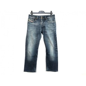 【中古】 ディーゼル DIESEL ジーンズ サイズ29 XL レディース LARKEE ブルー ダメージ加工