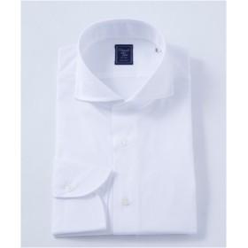 [シャツ]ヒトヨシ ドレスシャツ HS7S-C-043 ホワイト 40-86