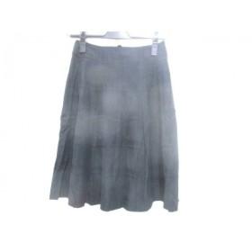 【中古】 ナチュラルビューティー ベーシック NATURAL BEAUTY BASIC スカート サイズXS レディース 黒