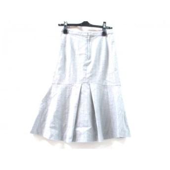 【中古】 イエナ IENA スカート サイズ36 S レディース グレー ブラウン
