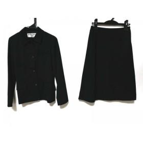 【中古】 ナチュラルビューティー ベーシック スカートスーツ サイズM レディース 黒