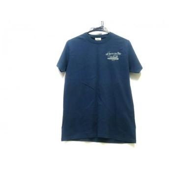 【中古】 ノーブランド 半袖Tシャツ サイズS メンズ ネイビー