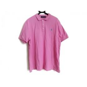 【中古】 ポロラルフローレン POLObyRalphLauren 半袖ポロシャツ サイズXL メンズ 美品 ピンク