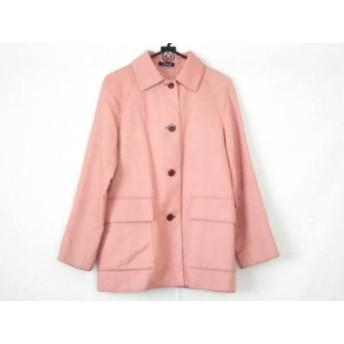 【中古】 ニューヨーカー NEW YORKER コート サイズ9 M レディース ピンク 冬物