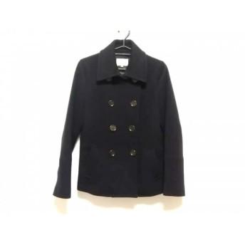 【中古】 スピック&スパン Spick & Span コート サイズ38 M レディース 美品 黒