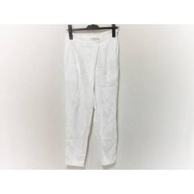 【中古】 プレインピープル PLAIN PEOPLE パンツ サイズ2 M レディース 美品 白