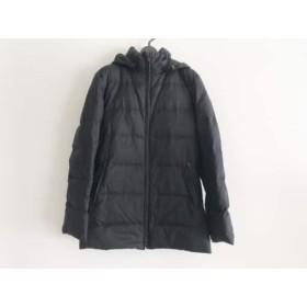 【中古】 ブラックバイマウジー ダウンジャケット サイズ2 M レディース 黒 ジップアップ/冬物