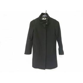 【中古】 ソニアリキエル SONIARYKIEL コート サイズ32 XS レディース 黒 羊毛カシミヤポリエステル