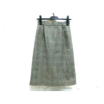 【中古】 ノーブランド スカート サイズM レディース グレー