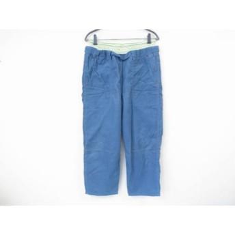【中古】 フラボア FRAPBOIS パンツ サイズ1 S レディース ライトブルー コーデュロイ