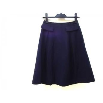 【中古】 ノーブランド スカート サイズ7S レディース ネイビー