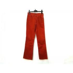 【中古】 リーバイス LEVI'S パンツ サイズW29 L34 レディース オレンジ