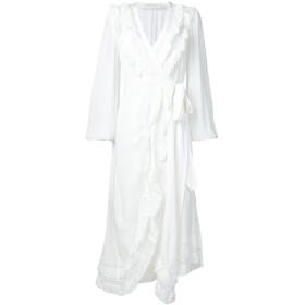 Zimmermann Moncur ラップドレス - ホワイト