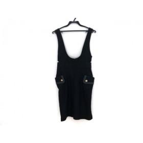 【中古】 ジルバイジルスチュアート ワンピース サイズS レディース 黒 ジャンパースカート