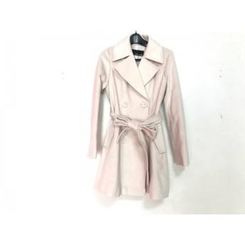 【中古】 セシルマクビー CECILMcBEE コート レディース 美品 ベージュ 冬物