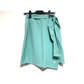 【中古】 モスキーノ チープ&シック MOSCHINO CHEAP & CHIC 巻きスカート レディース ライトグリーン