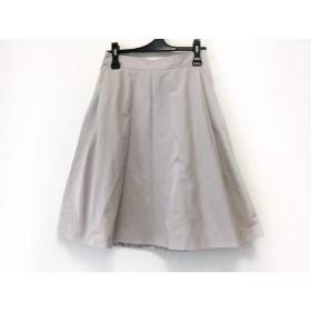 【中古】 スピック&スパン ノーブル Spick & Span Noble スカート サイズ36 S レディース ベージュ