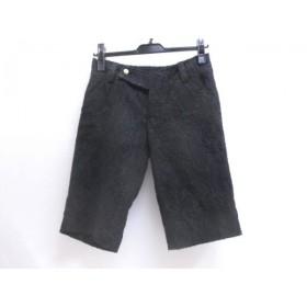 【中古】 ツイッギー twiggy ショートパンツ サイズ36 S レディース 黒