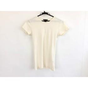 【中古】 ラルフローレン RalphLauren 半袖Tシャツ サイズM レディース アイボリー