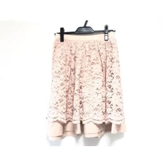 【中古】 アプワイザーリッシェ Apuweiser-riche スカート サイズ2 M レディース ピンク リバーシブル