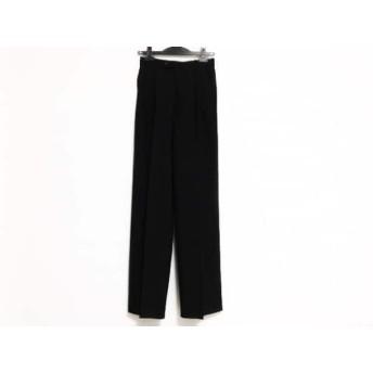 【中古】 マーガレットハウエル MargaretHowell パンツ サイズ1 S レディース 黒