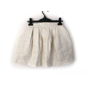 【中古】 リリーブラウン Lily Brown スカート サイズ0 XS レディース アイボリー