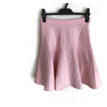 【中古】 ルシェルブルー LE CIEL BLEU スカート サイズF レディース ピンク