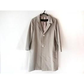 【中古】 ドゥロワー Drawer コート サイズ40 M レディース グレー チェスターコート/春、秋物