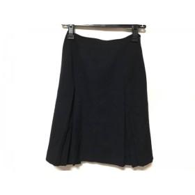 【中古】 ヨークランド YORKLAND スカート サイズ9 M レディース ダークネイビー