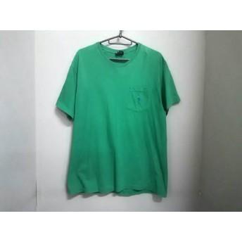【中古】 ポロラルフローレン POLObyRalphLauren 半袖Tシャツ サイズS メンズ グリーン