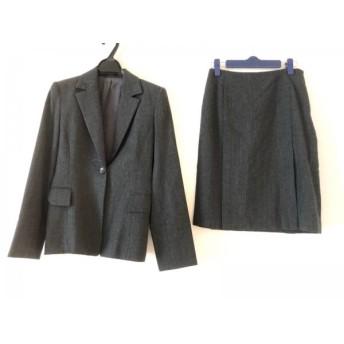 【中古】 ボディドレッシング BODY DRESSING スカートスーツ サイズ9 M レディース ダークグレー