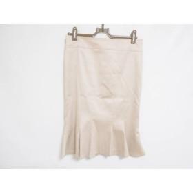 【中古】 マテリア MATERIA スカート サイズ36 S レディース ベージュ