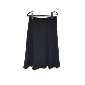 【中古】 ヨシエイナバ YOSHIE INABA スカート サイズ9 M レディース 黒
