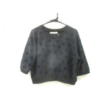 【中古】 ノーブランド Tシャツ サイズM M レディース ブラック
