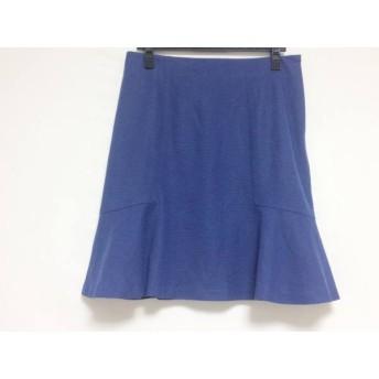 【中古】 ローズティアラ Rose Tiara スカート サイズ42 L レディース ブルー
